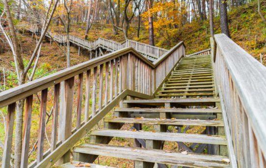 Notranje stopnice lesene je odlična spletna izbira